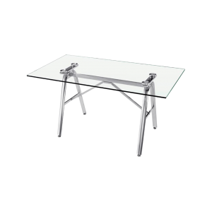 Glass Dinning Table Rectangle 1500mm x 800mm
