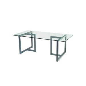 GLASS TOP TABLES & DESKS